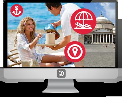 hot spot wi-mobile Witecno per connessioni ultraveloci presso lidi, pontili e comuni.